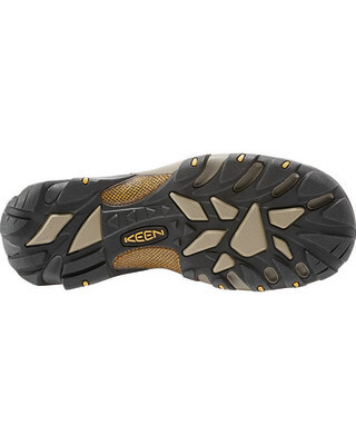 Keen Targhee II WP Low Mens Boots - Cascade Brown Golden Yellow - Size 9 US