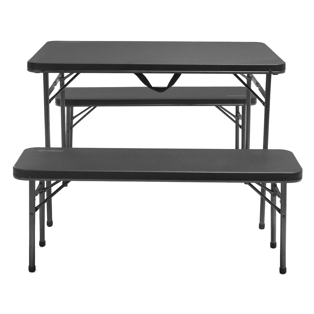 OZtrail Ironside 3pc Camping Recreation Table Set