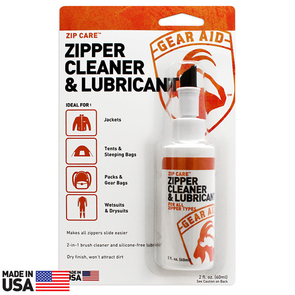 McNett Gear Aid Zip Care - Liquid Zipper Cleaner and Lubricant