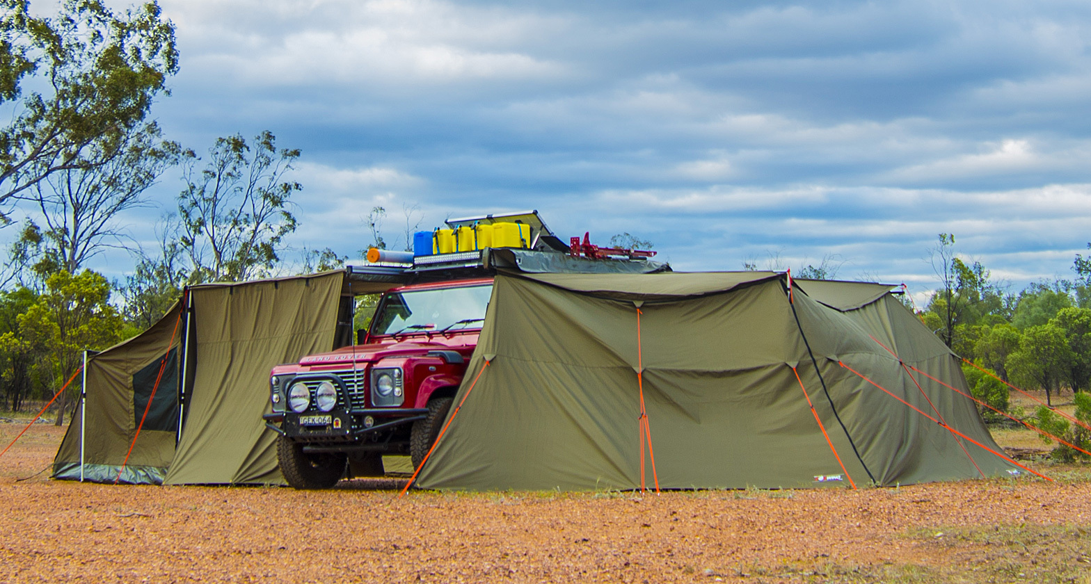 Rhino Rack Batwing Awning Tapered Zipper Extension Tentworld