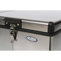 National Luna 80L Fridge Stainless Steel
