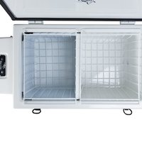 Evakool RFB110-FF Fibreglass Fridge/Freezer - 105L - Motor on Left