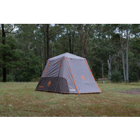 Coleman 6 Person Instant Up Tent - Silver - Full Fly