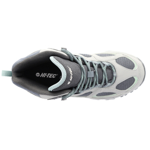 HI-TEC Lima Sport II Mid WP Womens Boots - Cool Grey/Graphite/Iceberg Green - Size 7