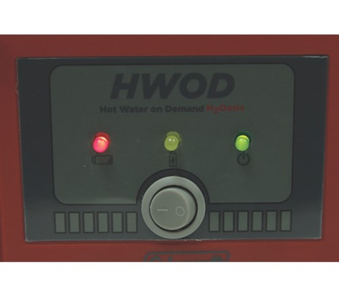 On Demand Hot Water : Coleman hot water on demand h oasis tentworld