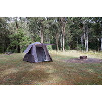 Coleman 4 Person Instant Up Tent - Silver - Full Fly