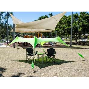 Outdoor Connection Fiesta Sun Shelter - Large - Blue