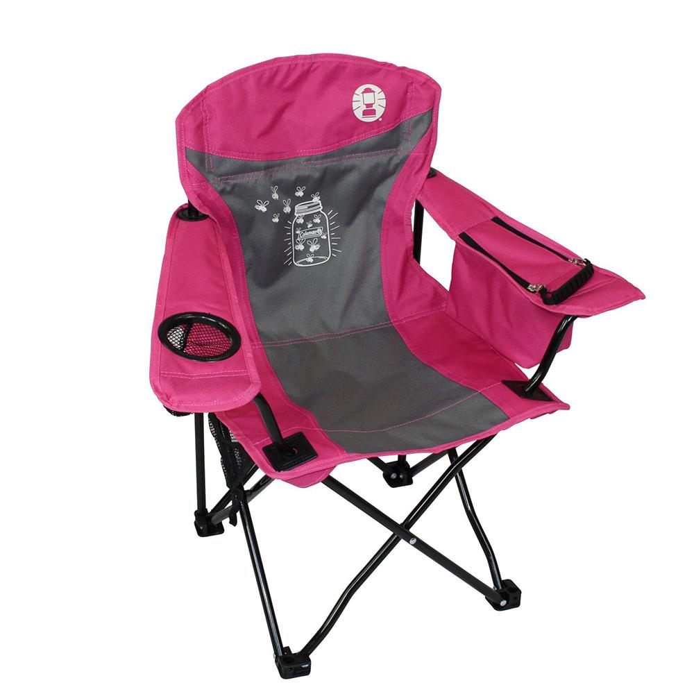 Coleman FyreFly Illumi Bug Kids Chair   Pink ...