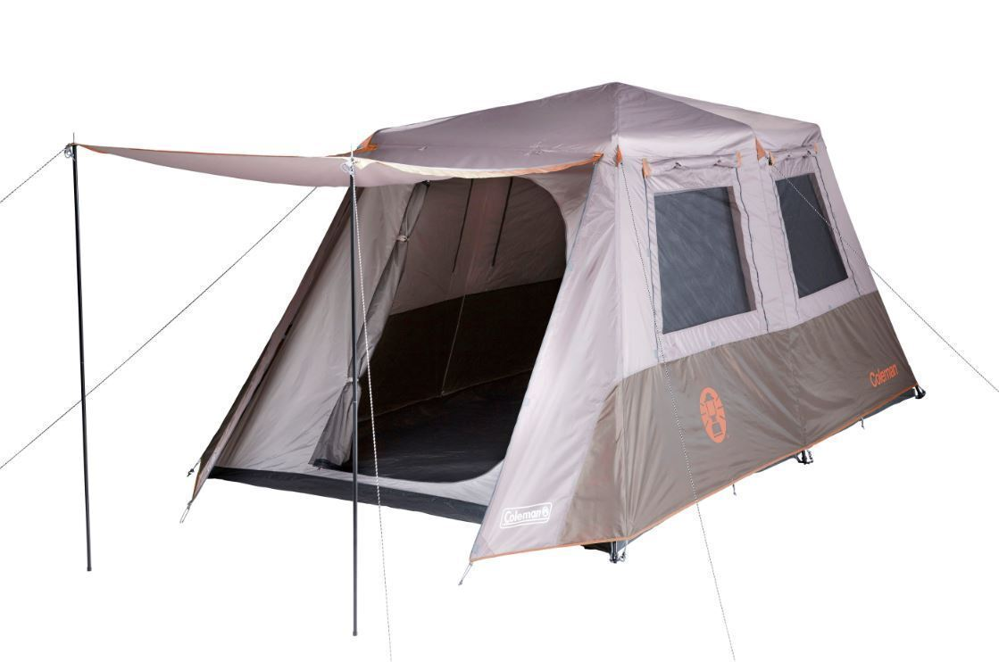 Coleman 8 Person Instant Up Tent - Silver - Full Fly ...  sc 1 st  Tentworld & Coleman 8 Person Instant Up Tent - Silver - Full Fly - Tentworld
