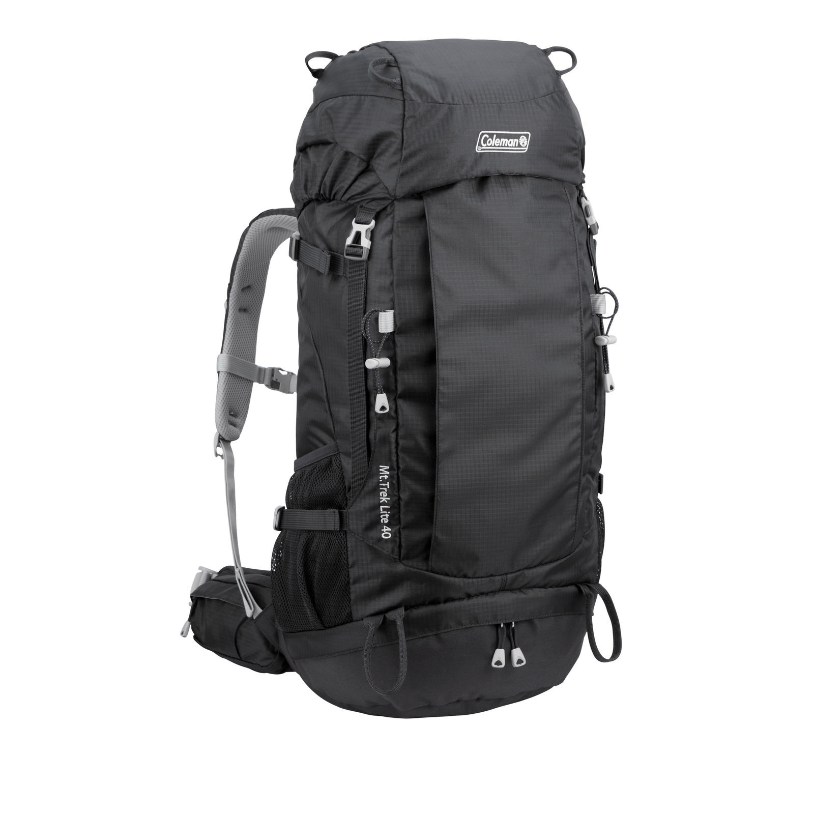 59edeaddad0e Coleman Mt Trek Lite Backpack - 40L - Black - Tentworld