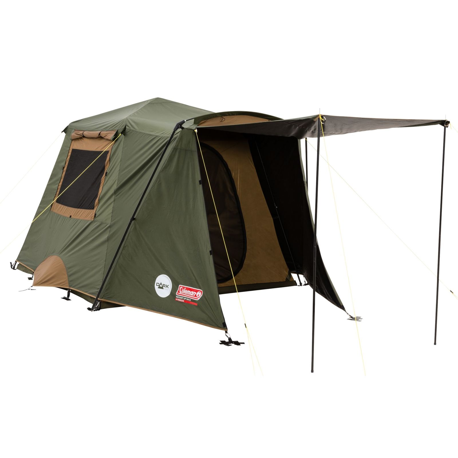 Coleman Instant Up Gold Vestibule 4P Dark Room Tent