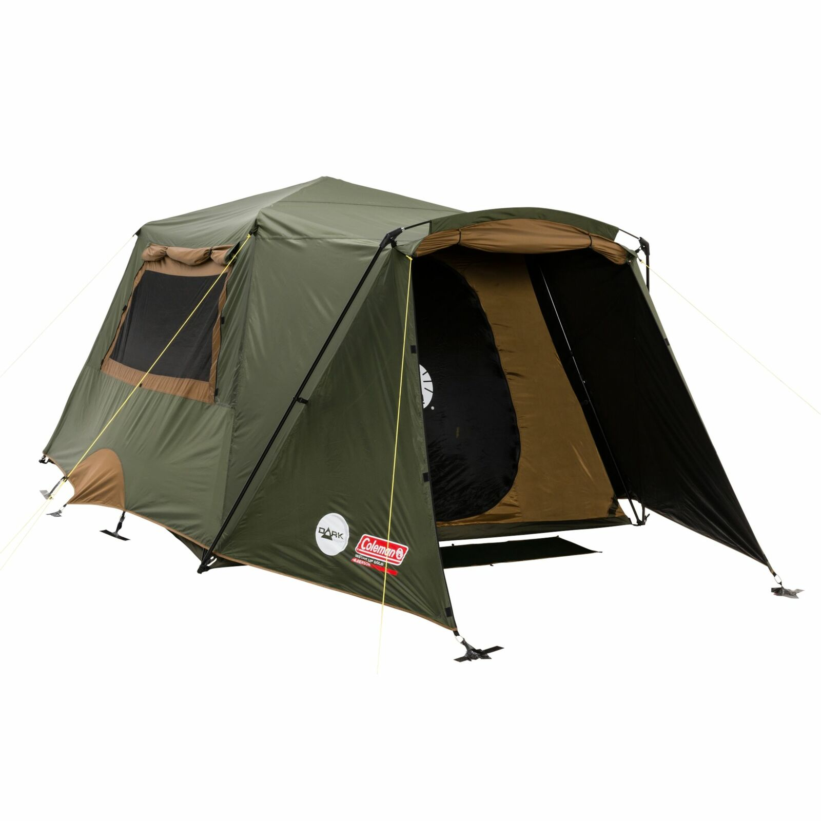 Coleman Instant Up Gold Vestibule DarkRoom Tent 6 Person ...  sc 1 st  Tentworld & Coleman Instant Up Gold Vestibule DarkRoom Tent 6 Person - Tentworld