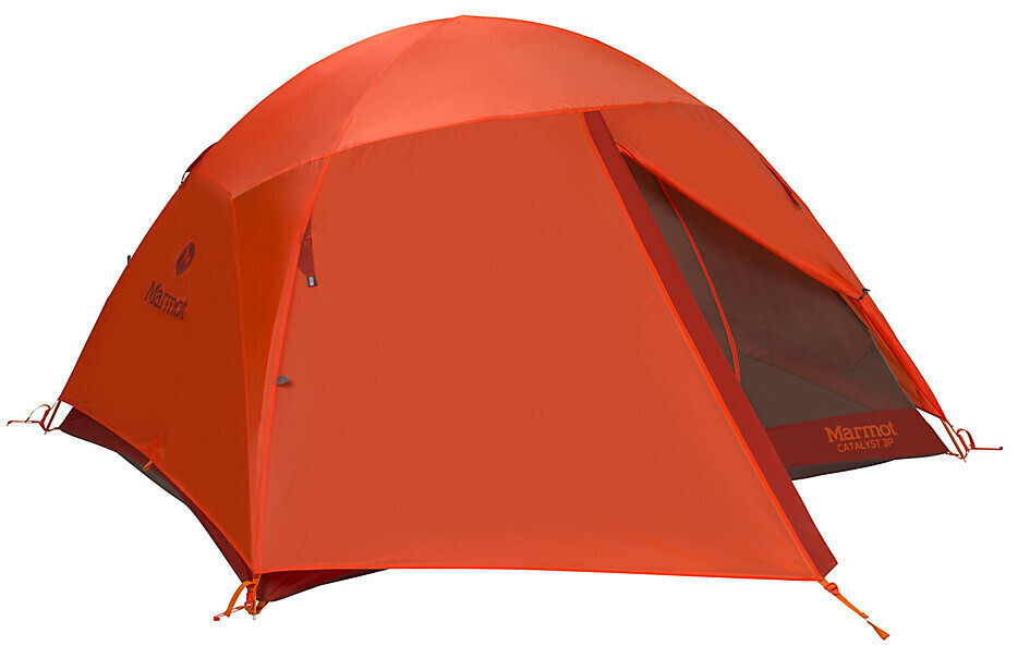 Marmot Hiking Tent - Catalyst - 3 Person - Rusted Orange/Cinder