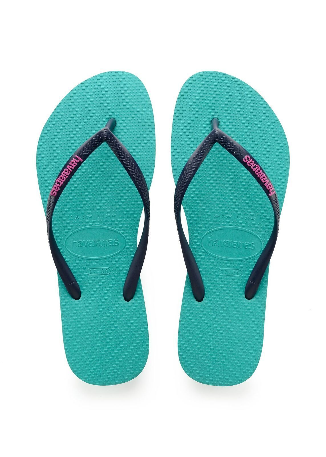Havaianas Slim Pop Up Logo - Size: 35/36