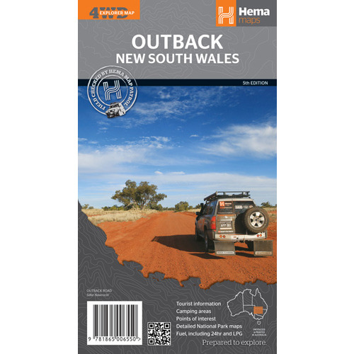 Hema Outback New South Wales Map - Edition 5
