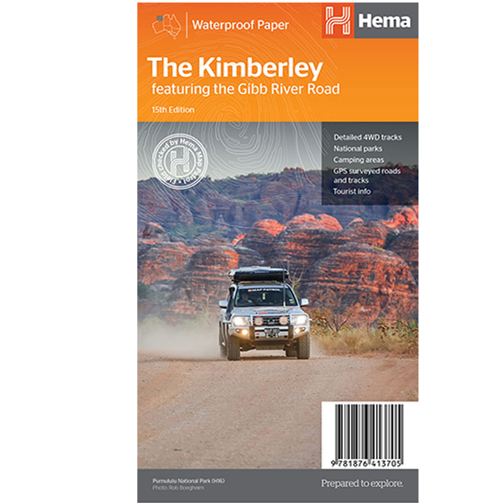 Hema The Kimberley Map - Edition 15