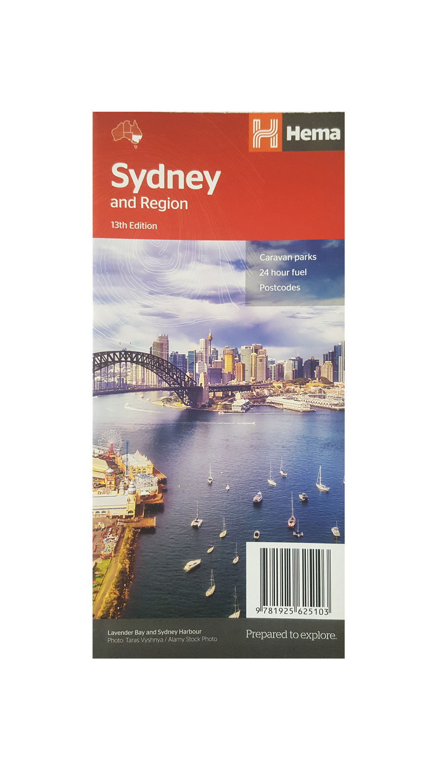 Hema Sydney & Region Map - Edition 13