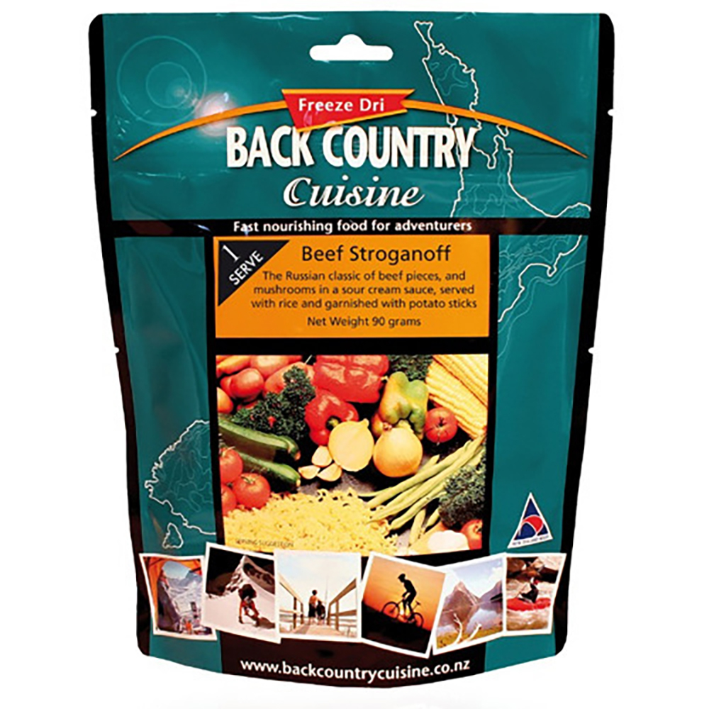 Backcountry Beef Stroganoff Food - 1 Serve