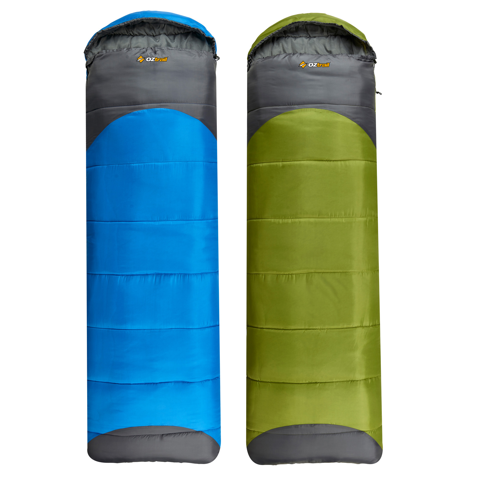 OZtrail Leichardt Jumbo Hooded 0C Sleeping Bag - Lucky Dip - Any Colour!
