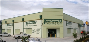Tentworld Browns Plains Shopfront