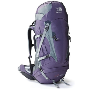 Karrimor Cheetah 50L to 70L F Backpack - Grape/Elite Grey