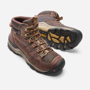 Keen Gypsum II Mid WP Mens Boots - Coffee Bean Bronze Mist