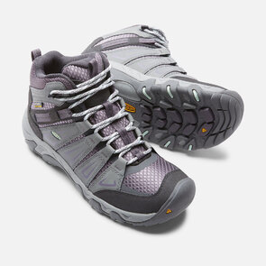 Keen Oakridge Mid WP Womens Boots - Gray Shark
