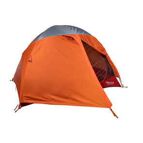 Marmot Midpines Hiking Tent - 4 Person - Orange Spice/Arona