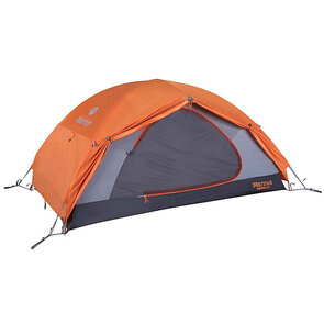 Marmot Fortress Hiking Tent - 2 Person - Tangelo/Grey Storm