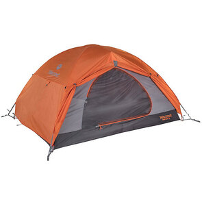 Marmot Fortress Hiking Tent - 3 Person - Tangelo/Grey Storm