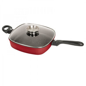 Campfire 28cm Ceramic Coated Deep Frypan with Lid