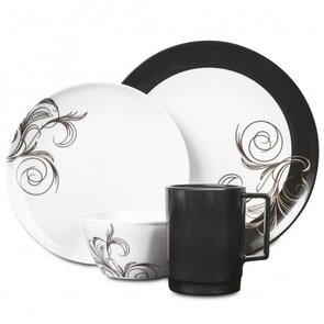 Campfire Melamine Set - 16 Piece - French Swirl