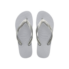 Havaianas Colour Mix Ice Grey Silver Thongs