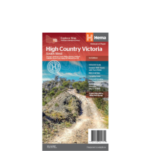 Hema High Country Victoria - South West Map - 1st Edition