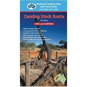 Westprint Canning Stock Route Map - Edition 5