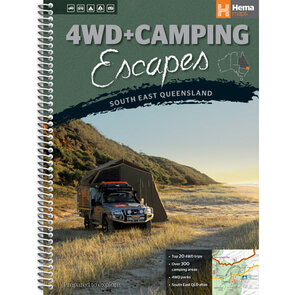 Hema 4WD + Camping Escapes South East Queensland - Spiral Book
