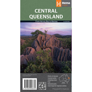 Hema Central Queensland Map - Edition 1