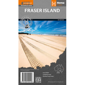 Hema Fraser Island Map - Edition 9
