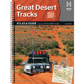 Hema Great Desert Tracks Atlas & Guide - Edition 4