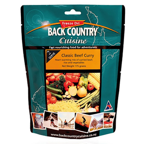 Back Country Classic Beef Curry Food - 2 Serve