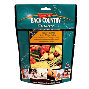 Back Country Roast Lamb & Vegies Food - 2 Serve