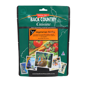 Back Country Cuisine Vegetarian Stirfry Freeze Dri Food - 1 Serve