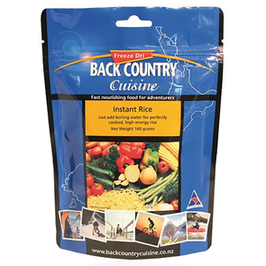 Back Country Instant Rice Food