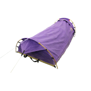 CampEzi Rowan Single Dome Swag - Purple