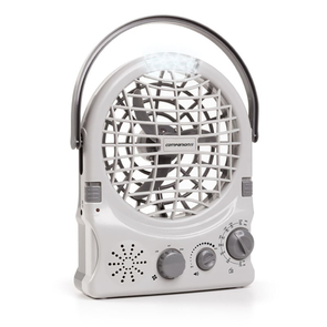 Companion Rechargeable Fan Radio