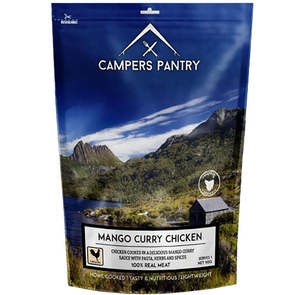 Campers Pantry Freeze Dried Mango Curry Chicken