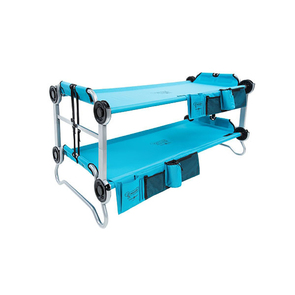 Disc-O-Bed Kid-O-Bunk - Teal- With Organiser