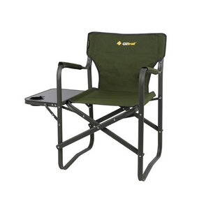 OZtrail Classic Directors Chair with Side Table