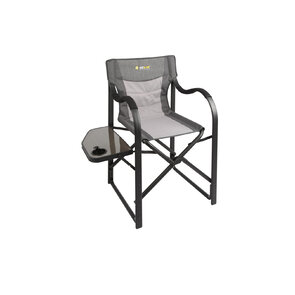 OZtrail Directors Vista Chair with Side Table