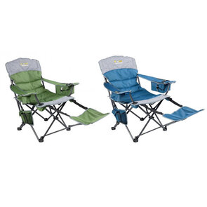OZtrail Monarch Footrest Chair
